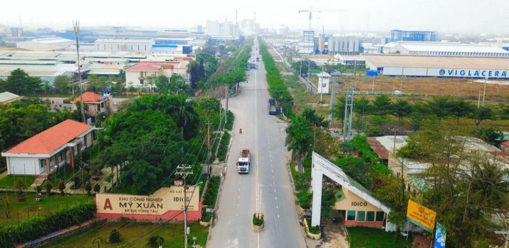 Mỹ Xuân A - Khu công nghiệp ở Vũng Tàu