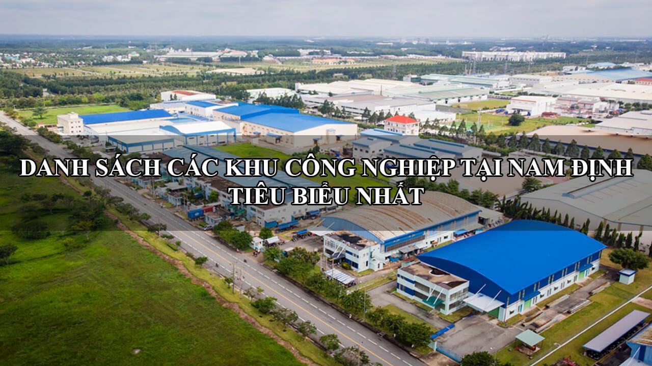 danh sách khu công nghiệp tại Nam Định